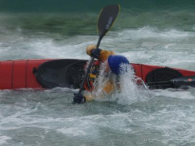 rolling kayak